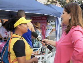 Matéria TV Gazeta (Globo) – Feira de Saúde da Mulher