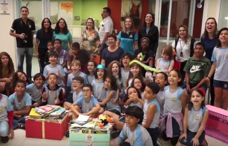 Matéria Rede TV – Escola Adventista da Serra e crianças com câncer