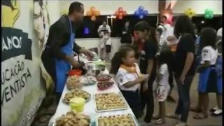 Reportagem/TV Novo Tempo: Curso de culinária – Escola de Uberaba