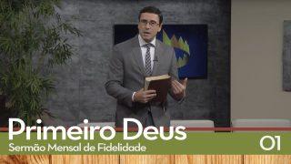 Sermão Mensal de Fidelidade: 01 Amor ao Ponto   Pr. Ivan Saraiva