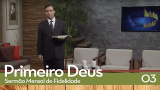 Sermão Mensal de Fidelidade: 03 Levanta-te   Pr. Arilton Oliveira