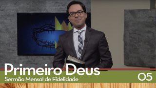 Sermão Mensal de Fidelidade: 05 Adoração Intensa   Pr. Daniel Ludke