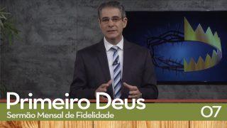 Sermão Mensal de Fidelidade: 07 Estabilidade Financeira   Pr. Antonio Tostes