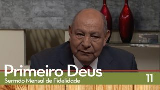 Sermão Mensal de Fidelidade: 11 Eu Sou o Senhor e não mudo   Pr. Alejandro Bullon