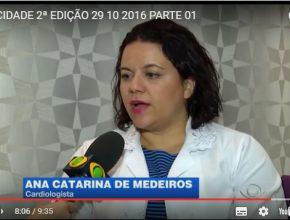 Médica adventista fala sobre o AVC – TV Band Vale