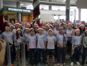 Cantata de Natal no Aeroporto de Congonhas