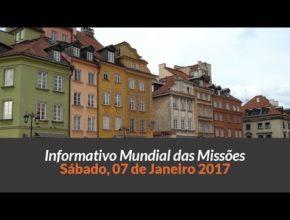 Sábado 07/jan – Informativo das Missões (1ºTrim/2017)