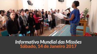 Sábado 14/jan – Informativo das Missões (1ºTrim/2017)