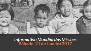 Sábado 21/jan – Informativo das Missões (1ºTrim/2017)