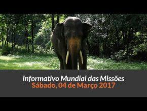 Sábado 04/mar – Informativo das Missões (1ºTrim/2017)