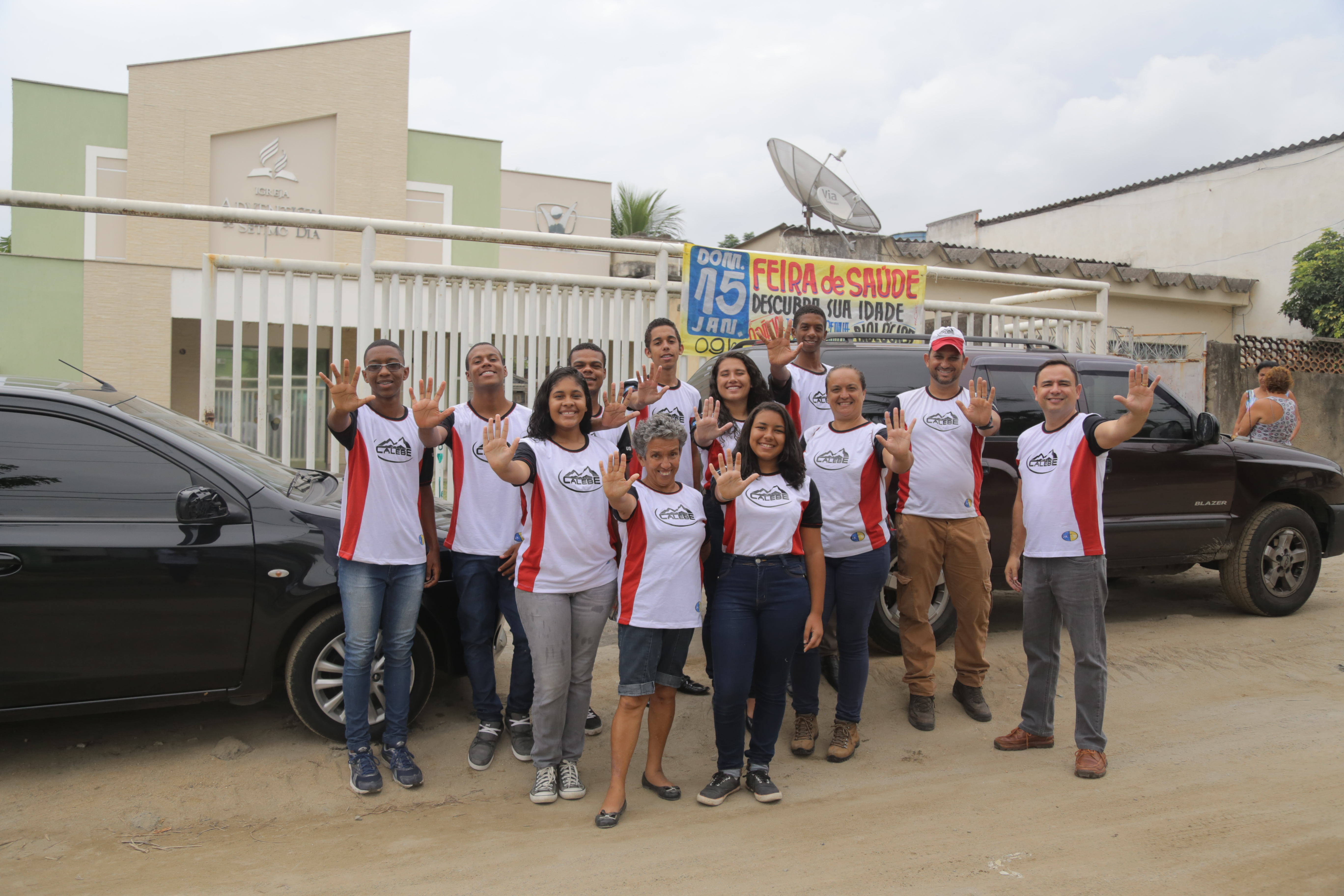 Missão Calebe 2017   Janeiro