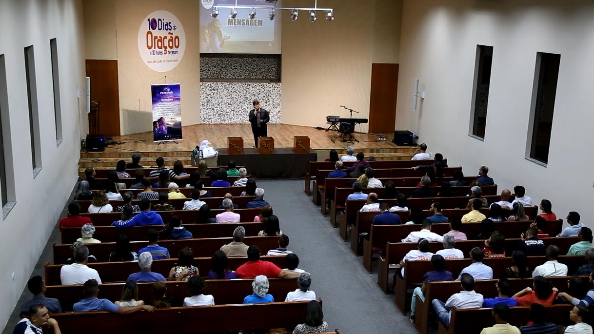 Reportagem/TV Novo Tempo: 10 Dias de Oração em Belo Horizonte