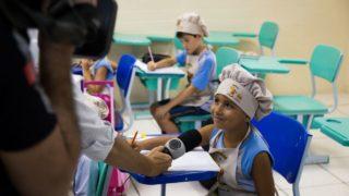 Reportagem/Record TV: Alimentação saudável no Colégio Adventista
