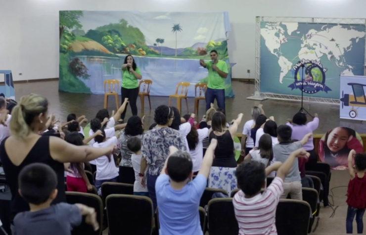 Congresso reúne mais de 800 crianças em São Paulo