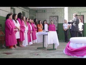 Batismo no Presídio Regional de Itajaí