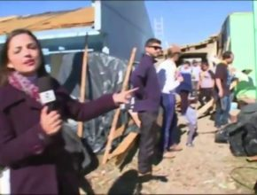 Desbravadores auxiliam vítimas de temporal | RBS TV