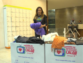 Academia em Curitiba se mobiliza para arrecadar agasalhos