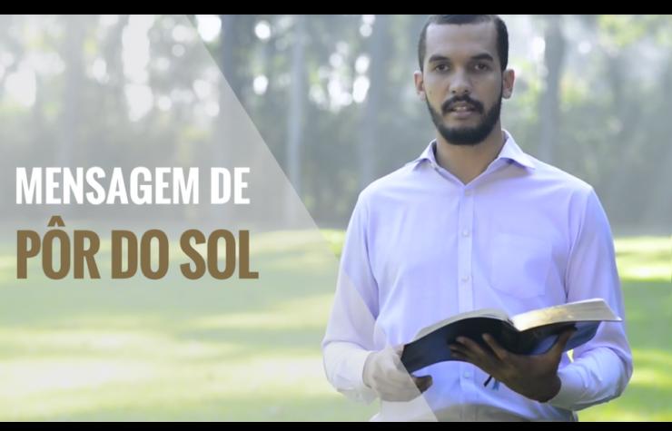 Mensagem de pôr do sol – 28/07/2017 – Pr. Diego Mariano