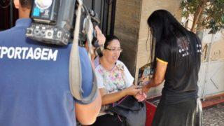 Nota/TV integração: Projeto Quebrando o Silêncio em Uberaba