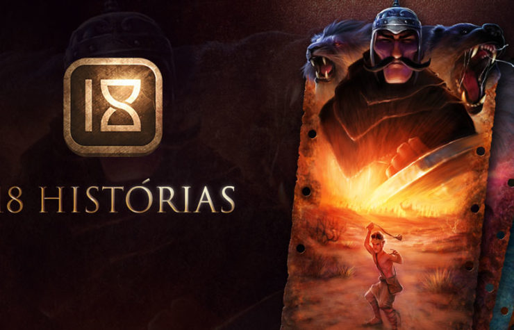 Teaser  do App 18 Histórias