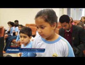 Na Mídia/TV Paranaíba (Record) – Projeto de combate à corrupção da Escola Adventista