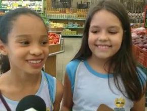 Crianças aprendem economia na prática (Globo – PR)