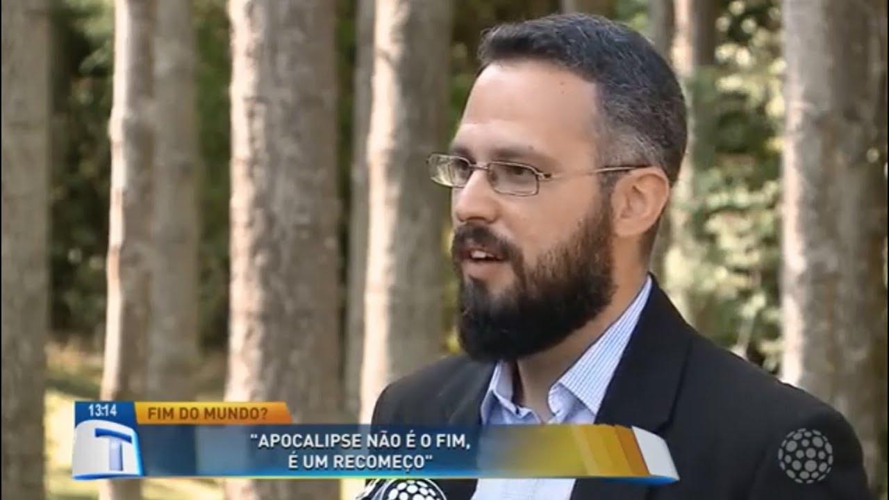 Pastor adventista explica profecias do apocalipse em programa de TV