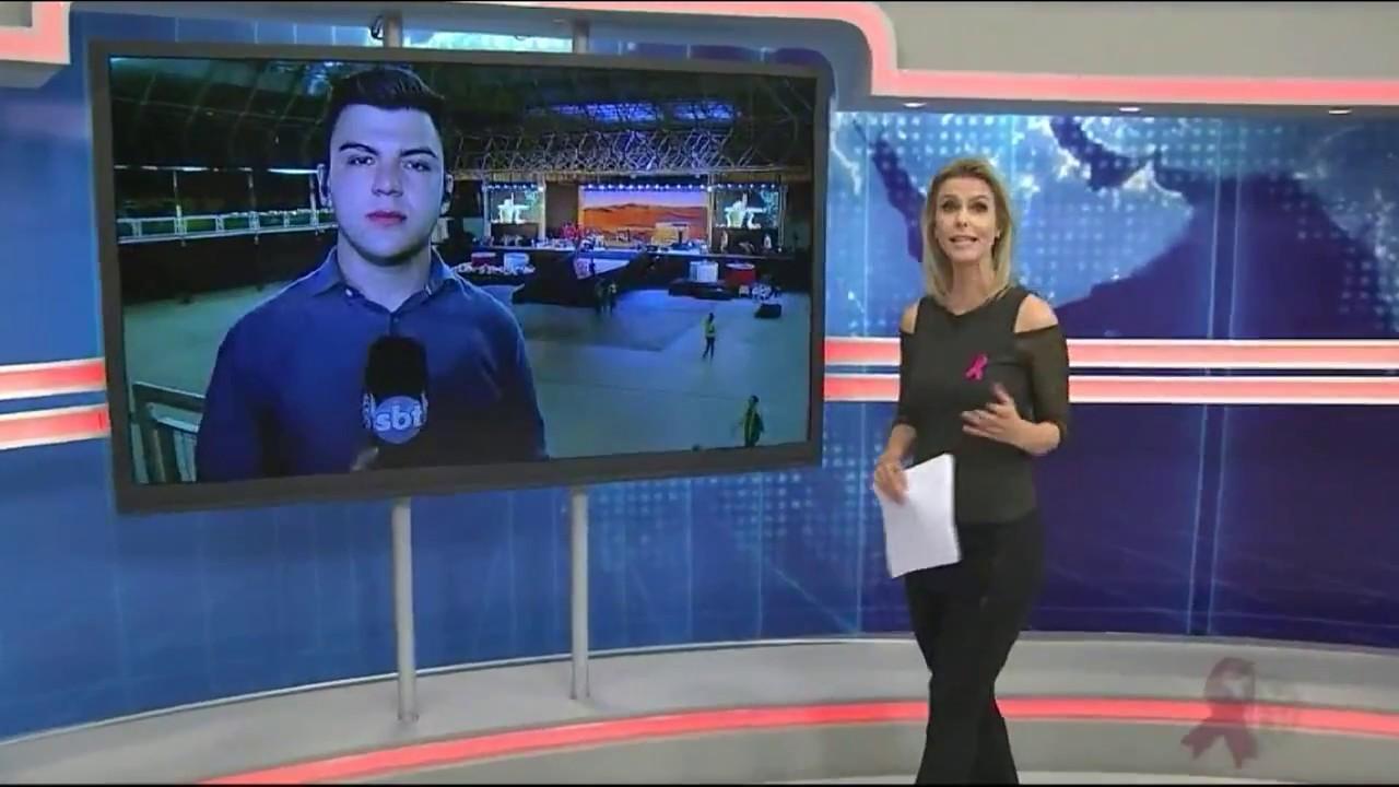 Campori em Ponta Grossa é noticiado no SBT Paraná