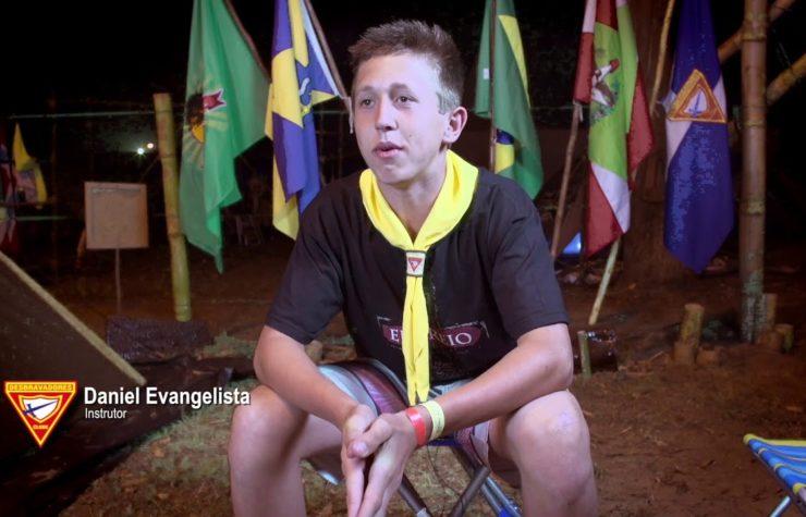 XX Campori de Desbravadores – Testemunho Vanderlei
