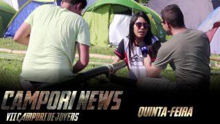 Campori de Jovens 2017 – Jornal 1ª Edição