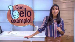 RBS TV – Estudantes constroem casa nova para morador de Santo Ângelo, RS