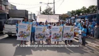 Passeata no Dia do Autismo