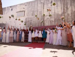 Voluntários organizam casamento coletivo em penitenciária de Maringá