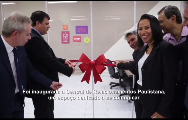 Inauguração da Central de Relacionamento