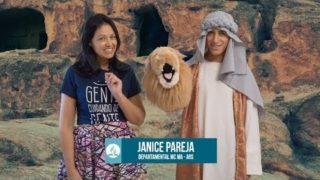ADORAÇÃO INFANTIL 2019 – TEMA 08 – Daniel na cova dos leões (23/02)