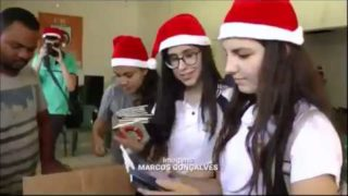 SBT News – Alunos do CAIT doam colchões para centro de reabilitação