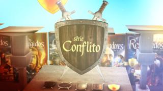 Sabia que existem Heróis de Verdade? Descubra a Série Conflito!