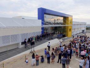 Reportagem inauguração do novo prédio da Escola Adv. Indaiatuba