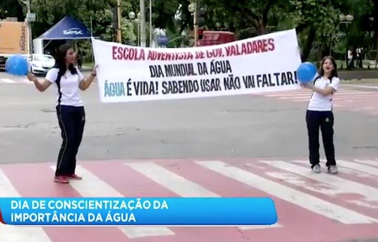 Na Mídia | Colégio Adventista é destaque no Dia Mundial da Água