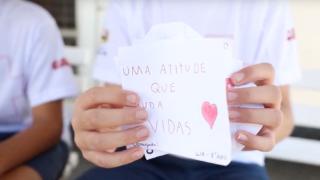 Revista NT | Crianças incentivam comunidade escolar a doar sangue