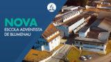 Obras do novo Colégio Adventistas de Blumenau