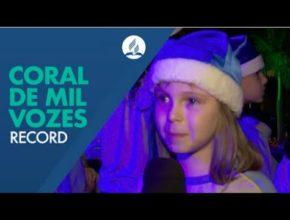 Coral em mil vozes em Joinville (Record)