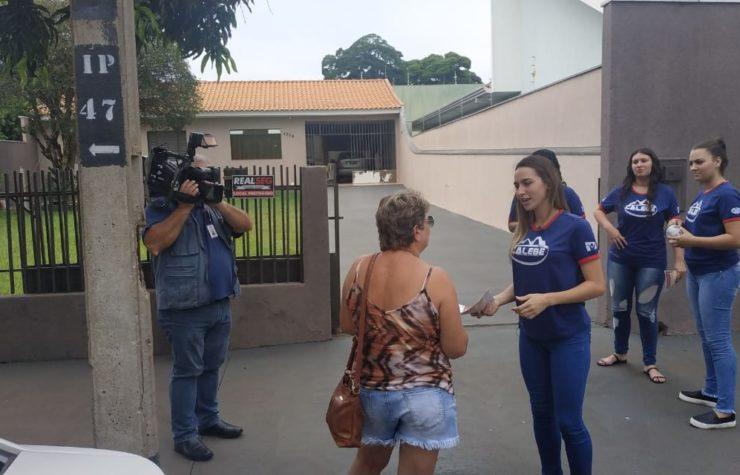 Calebes distribuem armadilhas para reduzir focos de dengue em Maringá (Rede Massa)
