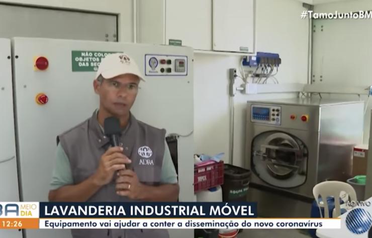 Caminhão da ADRA chega em Salvador para atender população de rua contra coronavírus