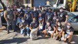 Voluntários arrecadam 400 cestas de alimentos em parceria com moto clubes (Band)