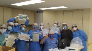 Crianças escrevem cartas para profissionais de saúde no Rio de Janeiro e são destaque na mídia