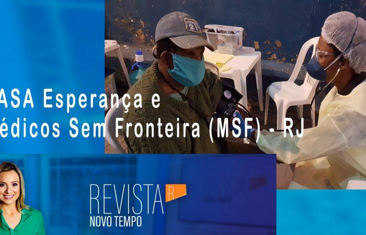 Casa Esperança e Médicos Sem Fronteiras no Rio