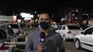 Celebração drive-in nas cidades de Anápolis e Uruaçu