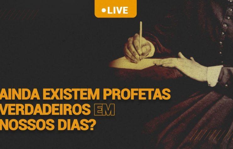 🔴 LIVE | Ainda existem profetas verdadeiros em nossos dias? 🧐