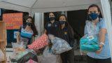 NA MÍDIA | Alunos do Colégio Adventista de Vitória participam de 'drive-thru' solidário